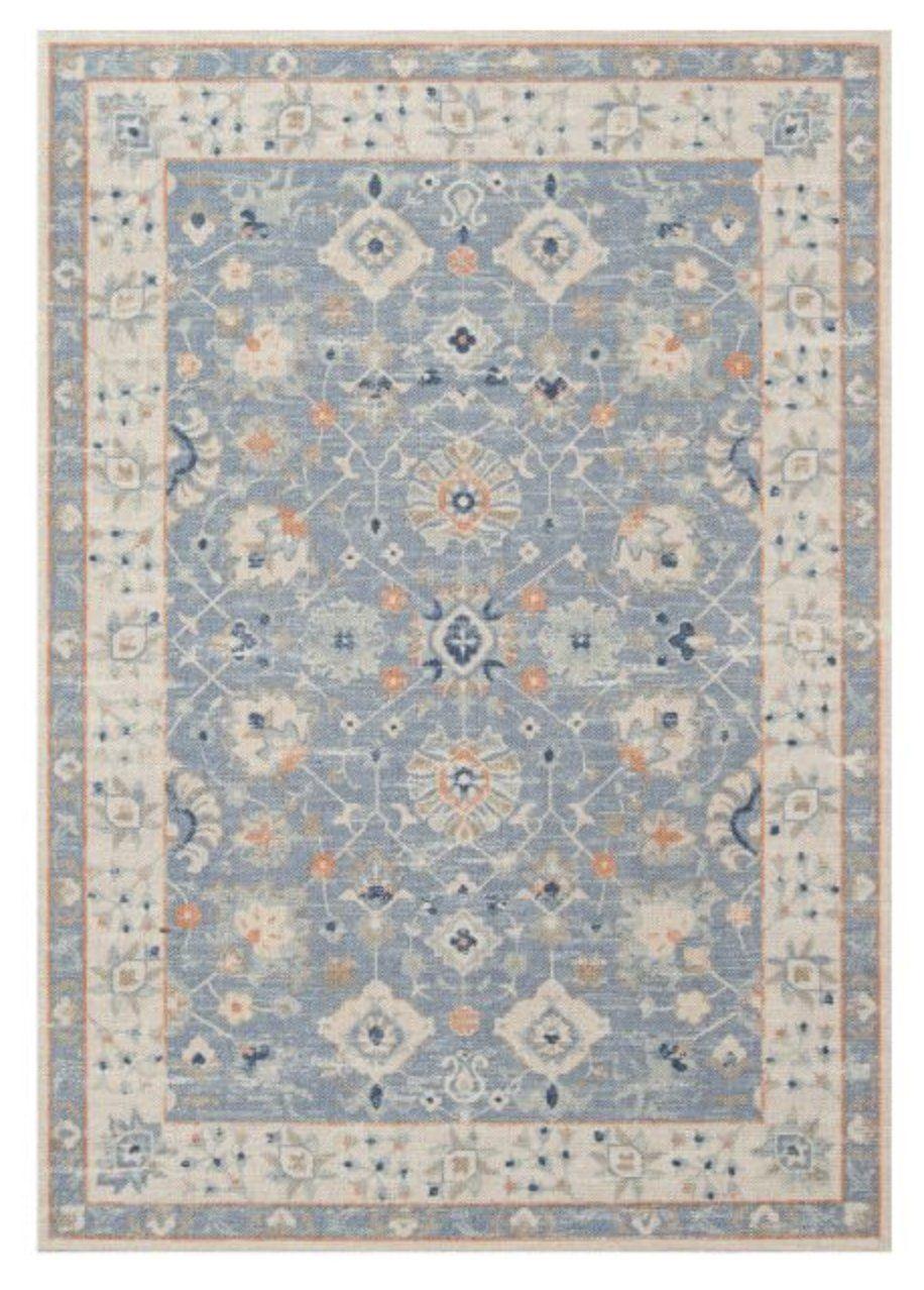 Miah Tufted Rug, Porcelain Blue, 9'9 x 12'6