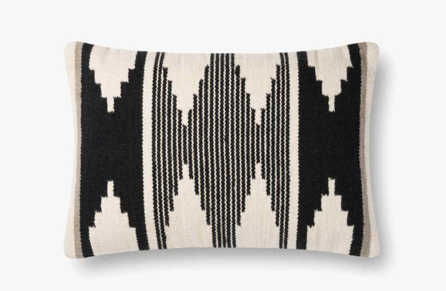 P1118 MH BLACK / IVORY - poly filled