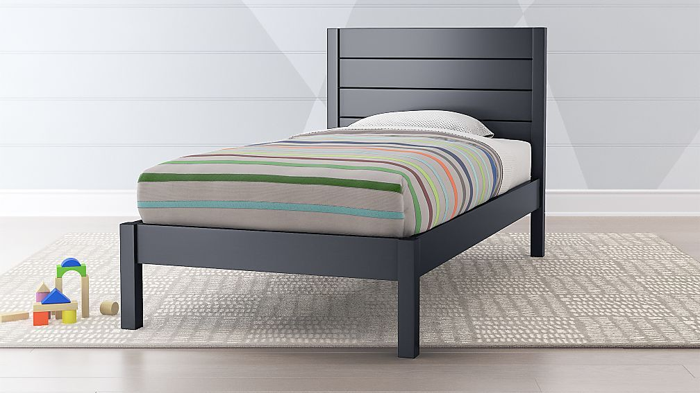 Parke Charcoal Twin Bed