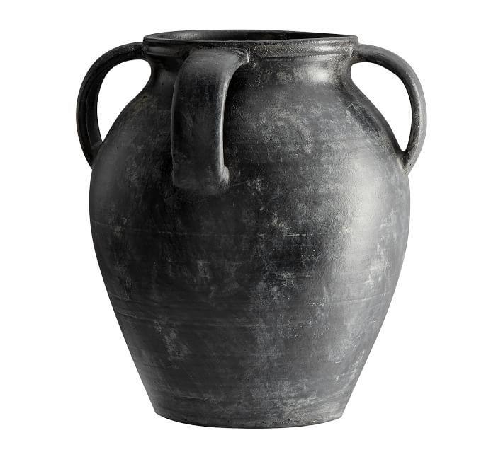 Joshua Vase, Black - Medium