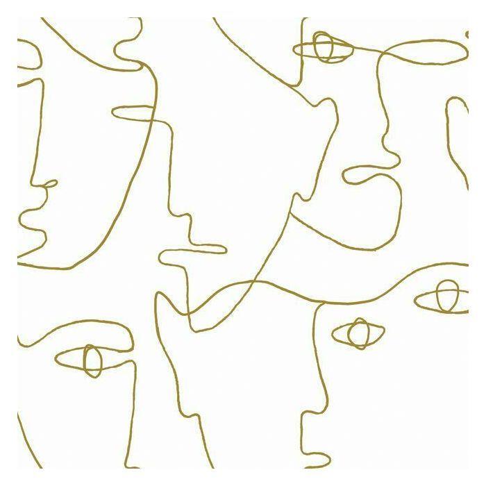 Pablo Portraits Premium Peel & Stick Wallpaper, Single Roll