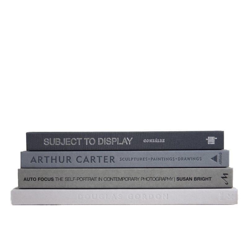 GRANITE COLORSTAK 4 PIECE AUTHENTIC DECORATIVE BOOK SET