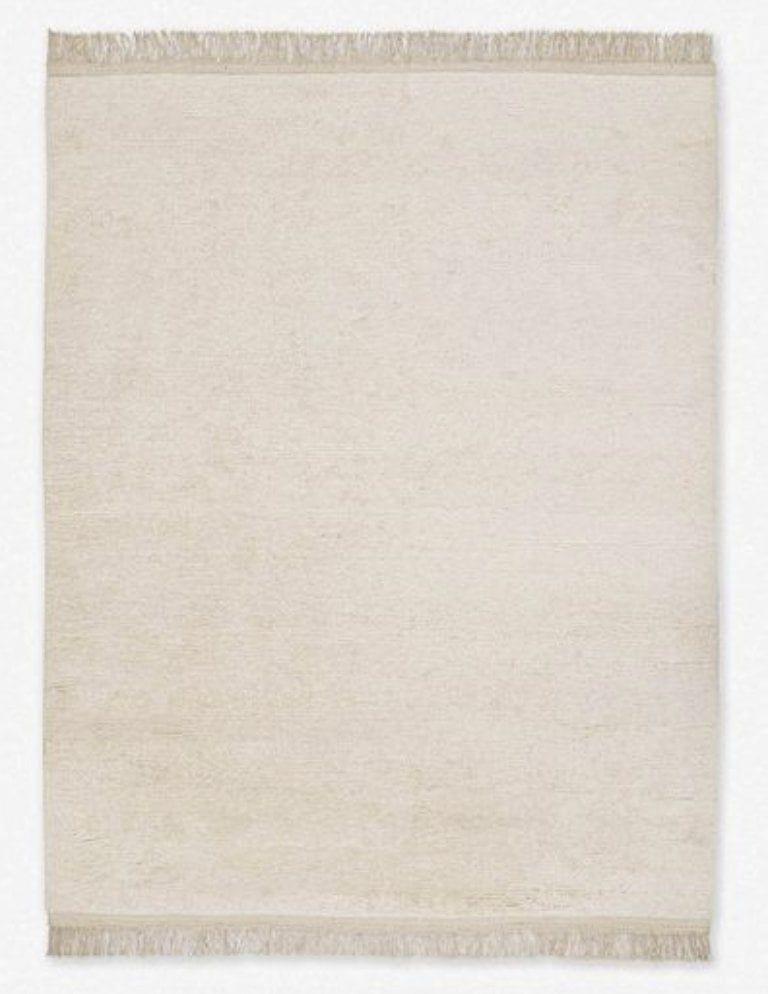 Amir Moroccan Shag Rug, Natural, 5'x8'