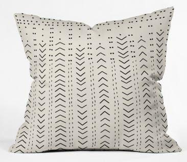 Iveta Abolina Mud Cloth Inspo VIII Throw Pillow WITH INSERT