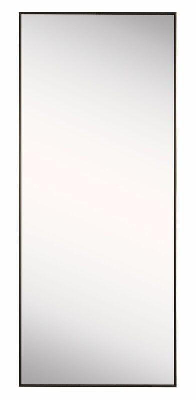 Rectangle Bronze Floor Mirror