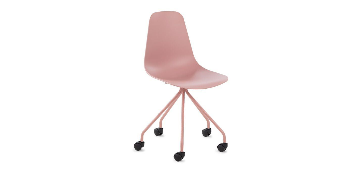 SVELTI Dusty Pink Office Chair