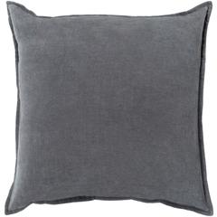"""Cotton Velvet Pillow - 20x20"""" - Down Insert"""