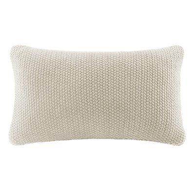 Elliott Knit Lumbar Pillow Cover