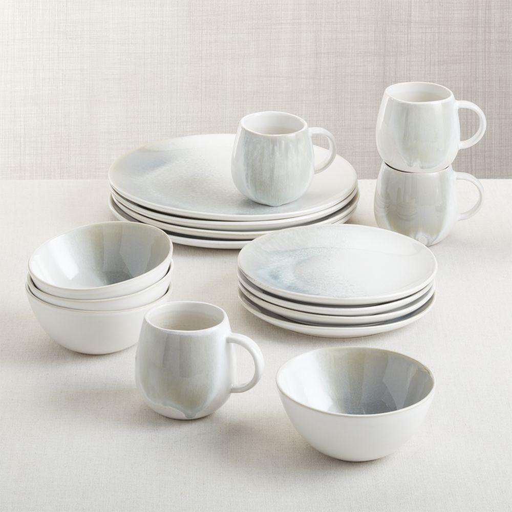 Ora Stoneware Dinnerware 16-Piece Set
