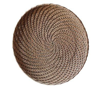 Jasper Basket Wall Art, Natural - Medium