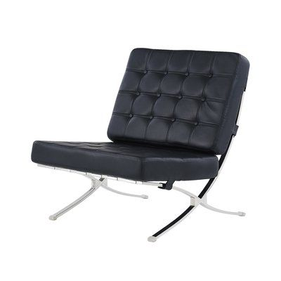 Ortrud Lounge Chair, Black