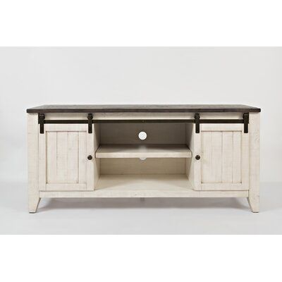 Westhoff Solid Wood TV Stand for TVs up to 65 inches