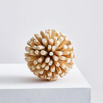 Wood Spike Ball, Large