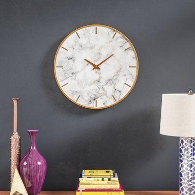"Oversized Wendel 23.6"" Wall Clock"