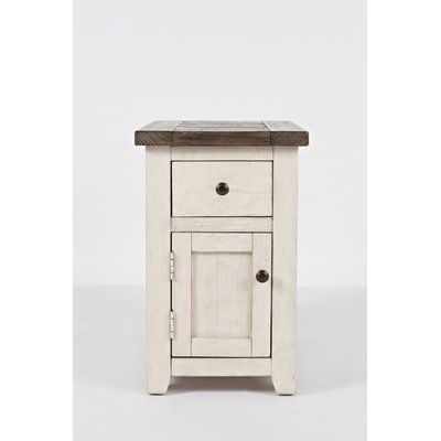 Westhoff Solid Wood End Table with Storage