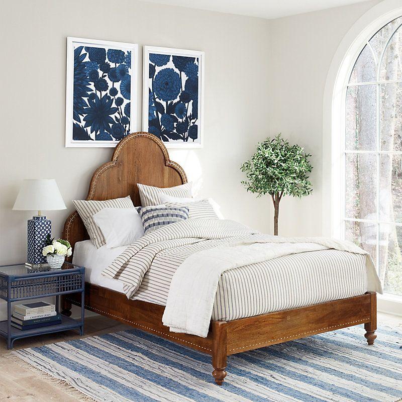 Banyan Bone Inlay Bed   - Ballard Designs