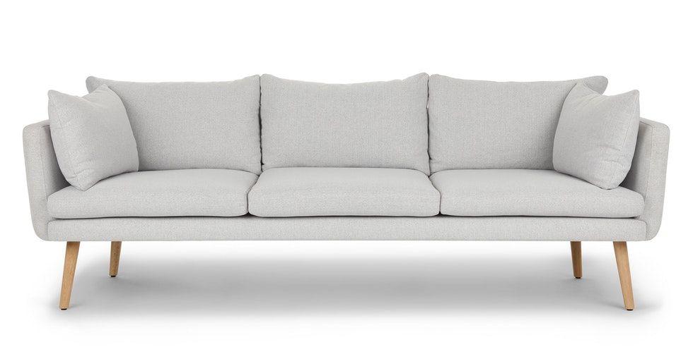 Celsa Drizzle Gray Sofa