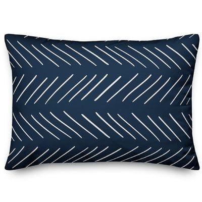Erico Modern Chevron Lumbar Pillow