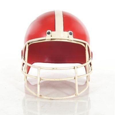 Prunella Football Helmet Sculpture