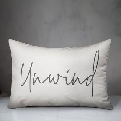 Garrity Unwind Indoor/Outdoor Lumbar Pillow