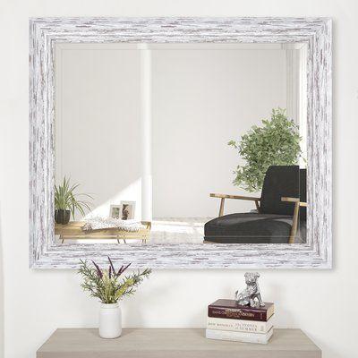 DorotheaScoop Framed Beveled Accent Mirror
