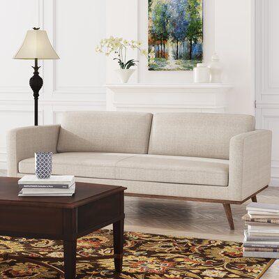 "Devale 79.15"" Wide Square Arm Sofa"
