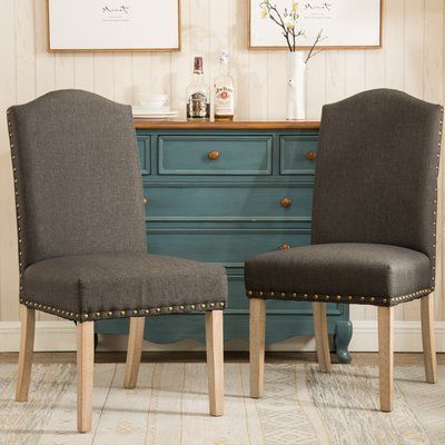 Isla Upholstered Dining Chairs - set of 2