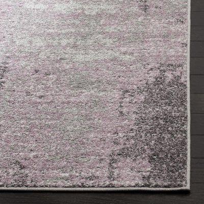 Costa Mesa Light Gray/Purple Area Rug