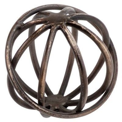 Russ Bronze Sphere Figurine