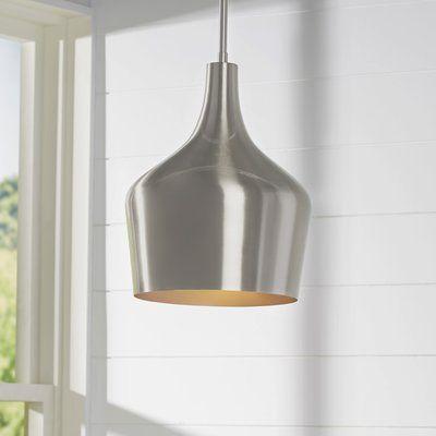 Knoxville 1-Light Single Bell Pendant