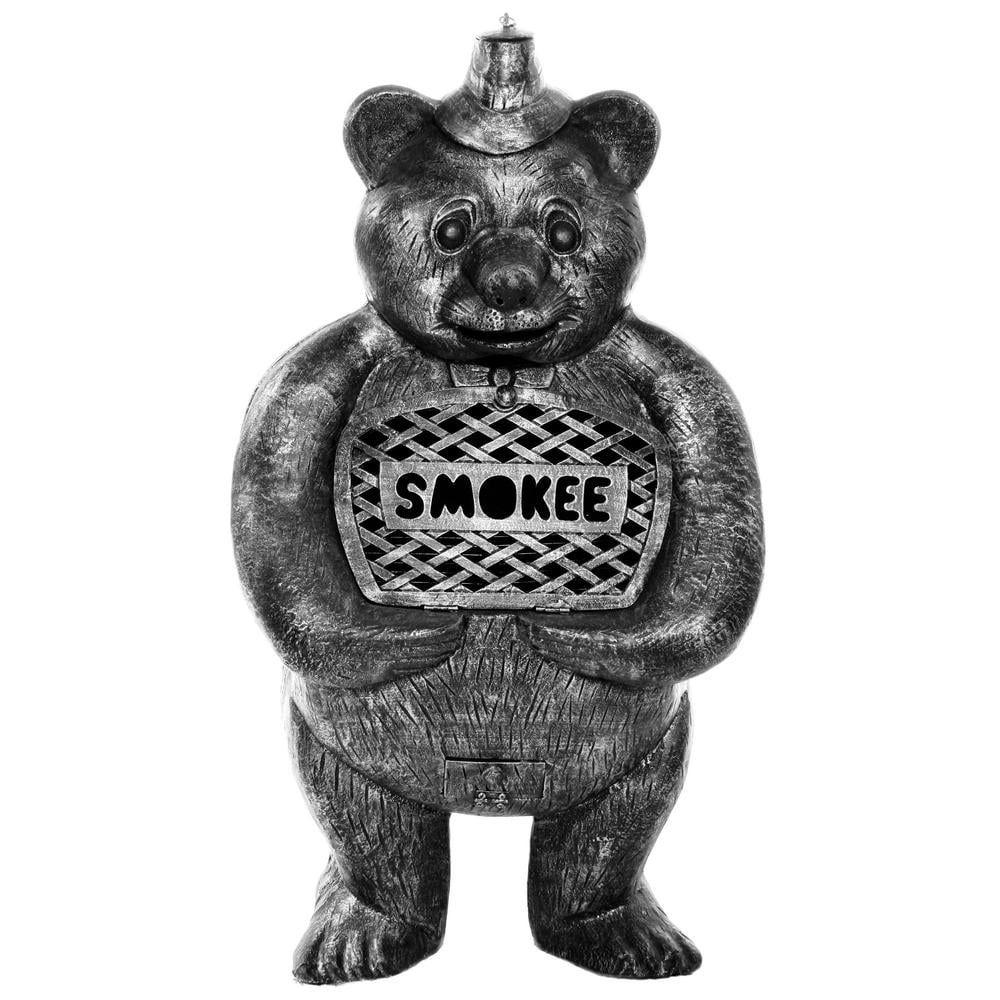 Smokee Bear 45 in. Aluminum Chimenea