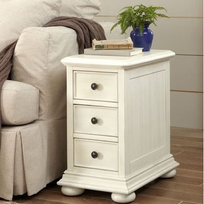Dania Beach End Table with Storage