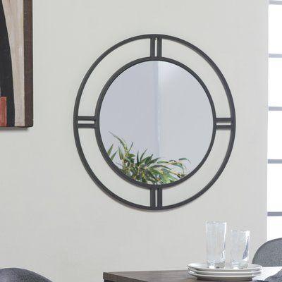 Camber Round Accent Mirror