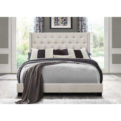 Aadvik Tufted Upholstered Bed