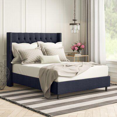 Davina Upholstered Standard Bed