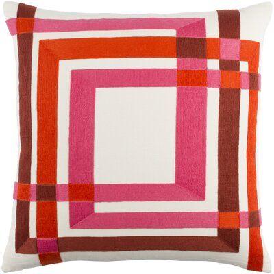 Kismet Form Cotton Throw Pillow Cover