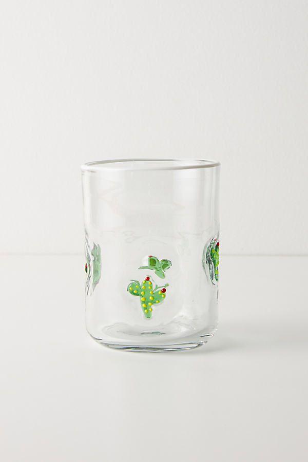 Bonita Glass By Anthropologie in Green Size JUICE