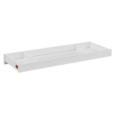 Tazewell Changing Table Topper for 6 Drawer Double Dresser