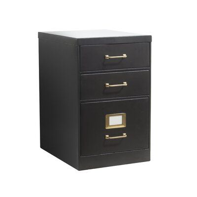 Mcgraw 3 Drawer Vertical Filing Cabinet