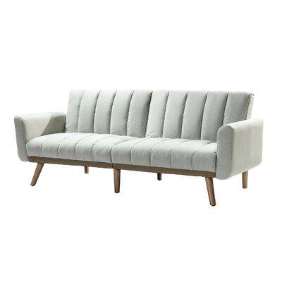 "Bellago 80"" Wide Flared Arm Convertible Sofa"