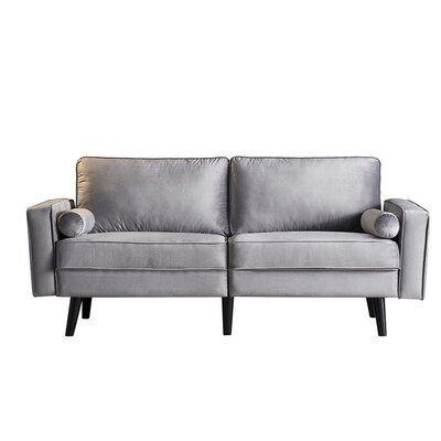 """Martucci 70.8"""" Wide Square Arm Sofa"""