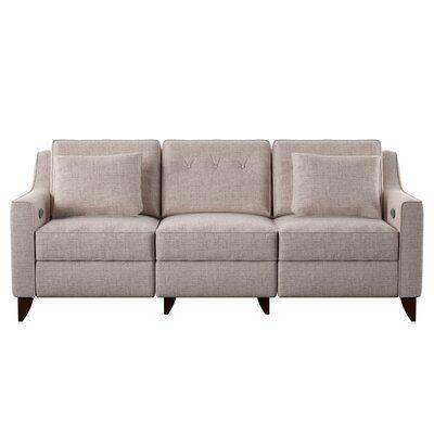 "Logan Reclining 88"" Square Arm Sofa"