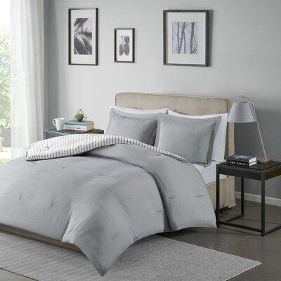 Holton Reversible Comforter Set