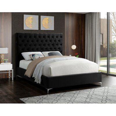 Dermott Upholstered Platform Bed