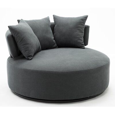 Horka Swivel Chair and a Half