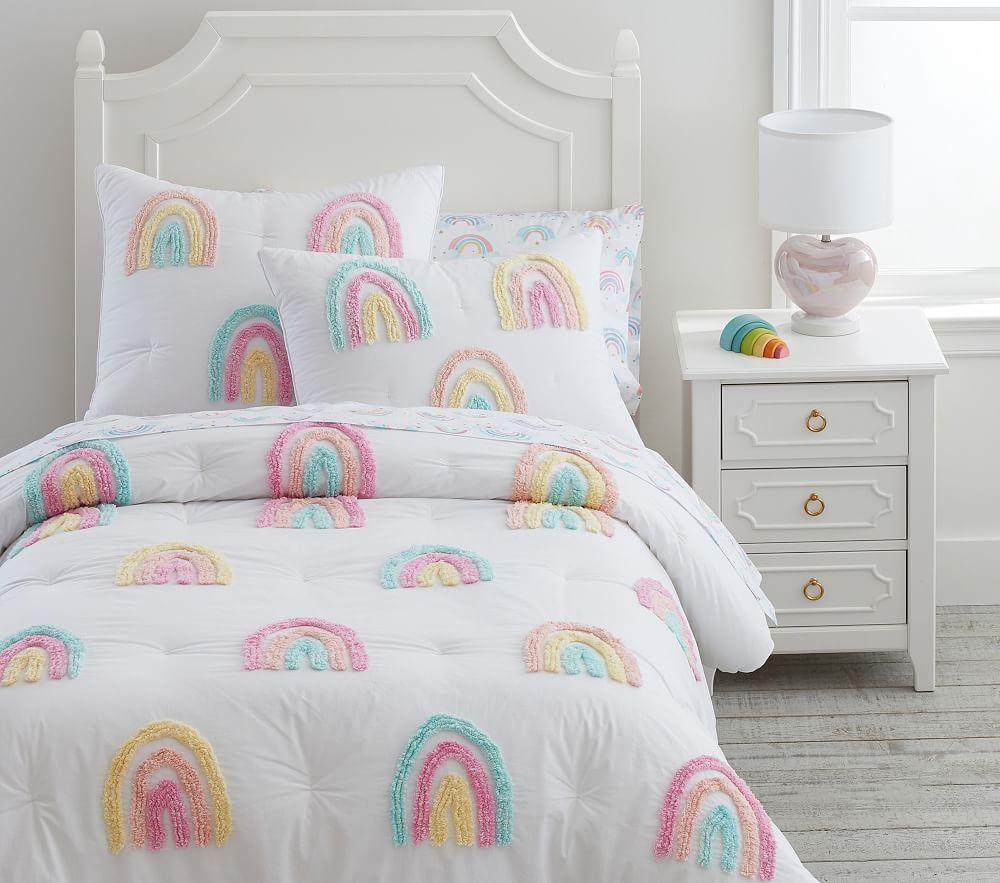 Candlewick Rainbow Comforter, Full/Queen, Multi