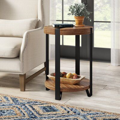 Tinley Round End Table