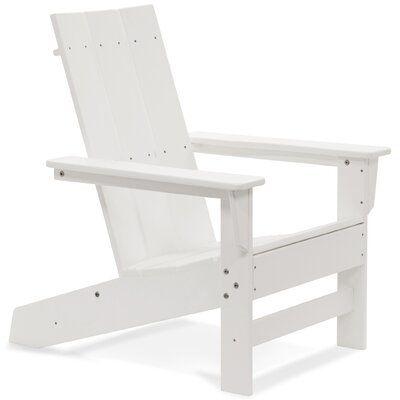 Marvin Plastic/Resin Adirondack Chair