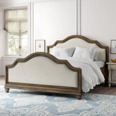 Burgan Upholstered Low Profile Standard Bed