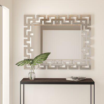 Alberto Geometric Wall Mirror